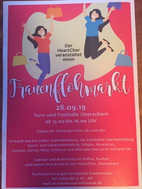 HeartChor - Frauenflohmarkt