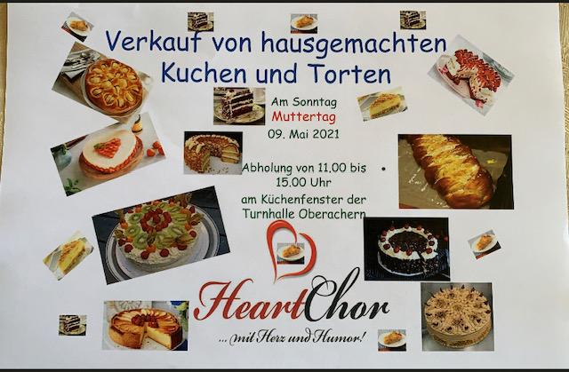 HeartChor verkauft Kuchen-und Torten am Muttertag